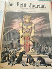 LE PETIT JOURNAL   4 années 1892/93/94/95