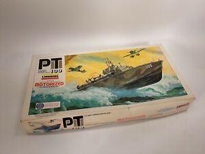 Lindberg U.S. Navy Torpedo Boat PT 109 1/64 Scale Plastic Model Kit Motorized