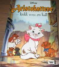 Norwegian Childrens Kids Disney Classics Book ARISTOKATTENE Norsk