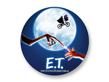 "Pin Button Badge Ø25mm 1"" E.T l'extra-terrestre The Best 80's Movies Film Cinema"
