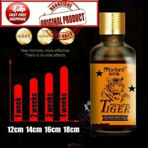 Permanent Thickening Growth Increase Dick Liquid Oil Men Health Care New 18cm
