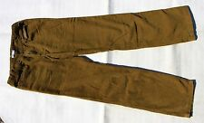 Pantalon Velours Marron Clair 13-14 ans
