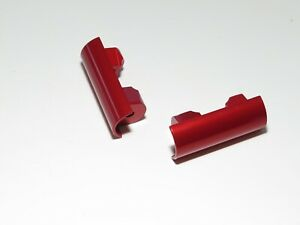 YY-MADMAX HPI KM ROVAN BAJA 1/5 5B ALUMINUM FRONT LOWER SHOCK BALL COVER RED