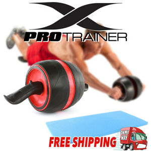 Fitness Ab Carver Pro Exercise Wheel Roller Six Pack Abs Workout Gym