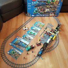 Lego 60052 City Cargo Train Set, entièrement fonctionnel, 100% complet boite & Instructions