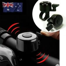 Black Metal & Plastic Ring Handlebar Bell Sound for Bike Bicycle Cycling Alarm