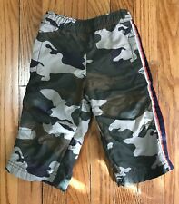 CHILDRENS PLACE INFANT BABY BOY CAMOUFLAGE PANTS WITH LINING SIZE 12 MONTHS