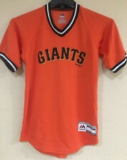 SF Giants Youth Boy's V-Neck Cool Base Jersey from Majestic - Hand Tag Missing