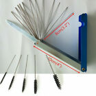 18X Motorcycle Carburetor Carbon Dirt Jet Remove Needles+Brushes Cleaning Tools