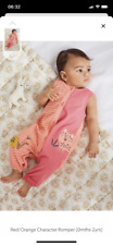 Next Girl Character Red/Orange Romper Suit, Size Upto 3 Months - News With Tags