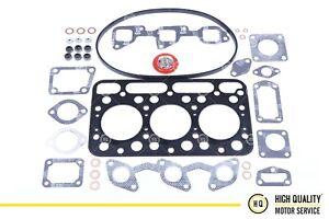 Full Gasket Set With Cylinder Head Gasket For Kubota 16427-03310, D1403.