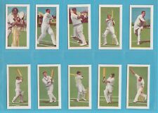 CRICKET - KANE PRODUCTS LTD. -  SET  OF  25  1956  CRICKETERS  2ND  SERIES CARDS