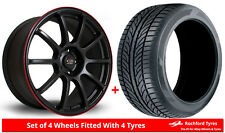 """Alloy Wheels & Tyres 18"""" Rota Force For Mazda 3 [Mk3] 13-16"""