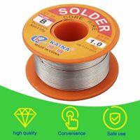 1mm Rosin Core Solder 63/37 Tin Lead Line Flux Welding Iron Wire Reel#^