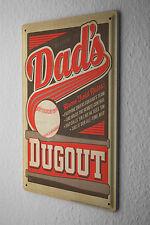 Nostalgic Tin Sign Wall Plate  Baseball bat ball rules Metal Wall Plate