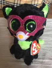 w-f-l TY Boos Jinxy Cat Halloween 15 cm Glubschi Boo ´s Glitter Eyes