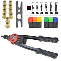 Hand Nut Tool M3- M10 Rivet Repair Riveter Rivnut Gun Mandrels Professional UK
