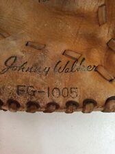 Vintage Baseball Glove Johnny Walker Cowhide Toys Sports Memorabilia Whiskey