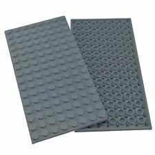 2 NEW LEGO Plate 8 x 16 BRICKS Light Bluish Gray