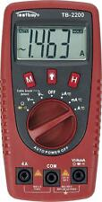 Testboy 2200-Digital Multimeter Voltage Detector with LED Torch Lamp