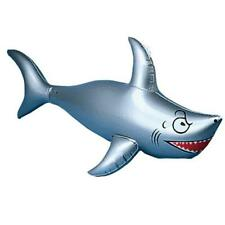 Inflatable Shark 40 inch Long- Best for Party Pool Shark Inflate Buy More Save!