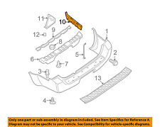 NISSAN OEM 05-12 Pathfinder Rear Bumper-Bracket Left 85223EA500
