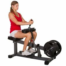 XMark Seated Calf Raise Lower Leg Exercise Machine XM-7613 New
