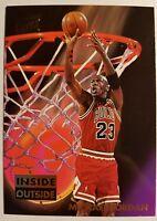 1993-94 Fleer Ultra Michael Jordan Inside Outside Insert, Sharp! HOF Bulls, GOAT