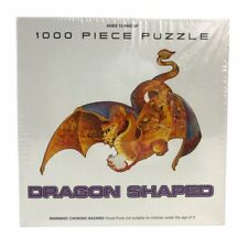 FX Schmid Fire Dragon Shaped Jigsaw Puzzle 1000 Piece New