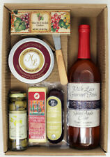 Spiced Apple Cider Gourmet Cheese & Meat Gift Box Dad Birthday Congratulations
