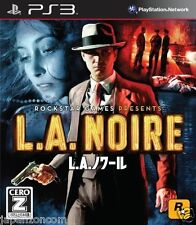 Used PS3 L.A. Noire  SONY PLAYSTATION 3 JAPAN JP JAPANESE JAPONAIS IMPORT
