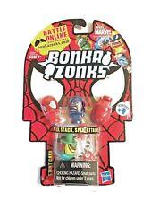 Bonka Zonks Bonkazonks Marvel Series 1 Spiderman 4 Pack With Stunt Card A0384