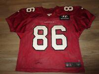Arizona Cardinals #86 NFL Practice Game Worn Used Nike Football Jersey 46