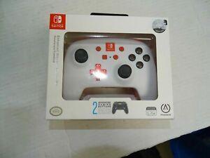PowerA Enhanced Wireless Controller Ergonomic Nintendo Switch White 1507506-01