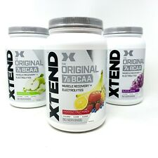 Scivation XTEND BCAAS 90 SRV Amino Acids Best BCAA Glutamine Citrulline Powder