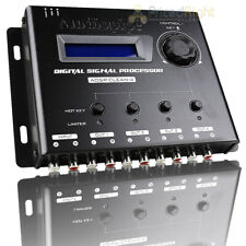 Audiopipe Digital Signal Processor 1 In 4 Out Noise Reduction Optimized Audio
