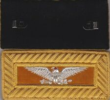 Indian War Cavalry Colonel Shoulder Boards Straps w/ Frock Clips w/Free $20 Coin