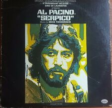 Al Pacino Hand Signed Album Soundtrack for Serpico TD Authentic