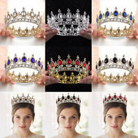 Queen Bridal Wedding Princess Birthday Tiara Crown Hair Accessories Headband