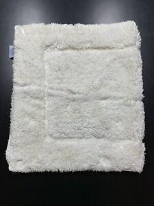 Milagro Bath Rug Mat Small Rectangle Ivory 34X21