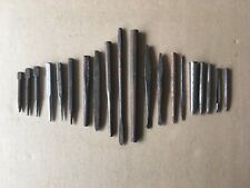 """Vintage METAL PUNCHES Lot of 20, different sizes, 3 1/8""""-9 3/8"""" Length"""