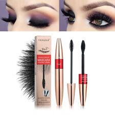2-in-1 4D Silk Fibre Mascara Eyelashes Waterproof Extension Make Up Long Lasting