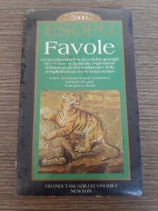 ESOPO FAVOLE la raccolta completa dei celebri apologhi -testo grego a fronte.