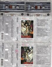 RENATO ZERO doppia musicassetta PROMETEO Made in Italy 1991 MC MC7 K7 cassetta
