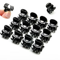 Hot Sale 12 Pcs Black Plastic Mini Hairpin 6 Claws Hair Clip Clamp for Ladies