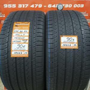 2 x  295 40 R 20 106V 5.2mm DOT17/14 Michelin Latitude Tour Hp NO M+S Ref. 18668