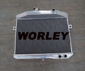 3 core aluminum radiator for Volvo Amazon P1800 B18 B20 engine GT 1959-1970 MT