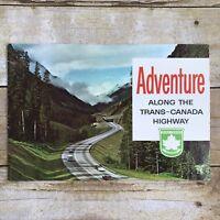 Vintage Brochure Adventure Along The Trans-Canada Highway Travel Advertising