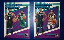 Kyrie Irving 2019-2020 Donruss Changing Stripes Insert Kevin Durant 2 Card Lot