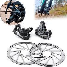 Bicicleta De Montaña Freno de discos calibradores racework Velocidad Clip Dual Piston mecánico con Kit de rotor